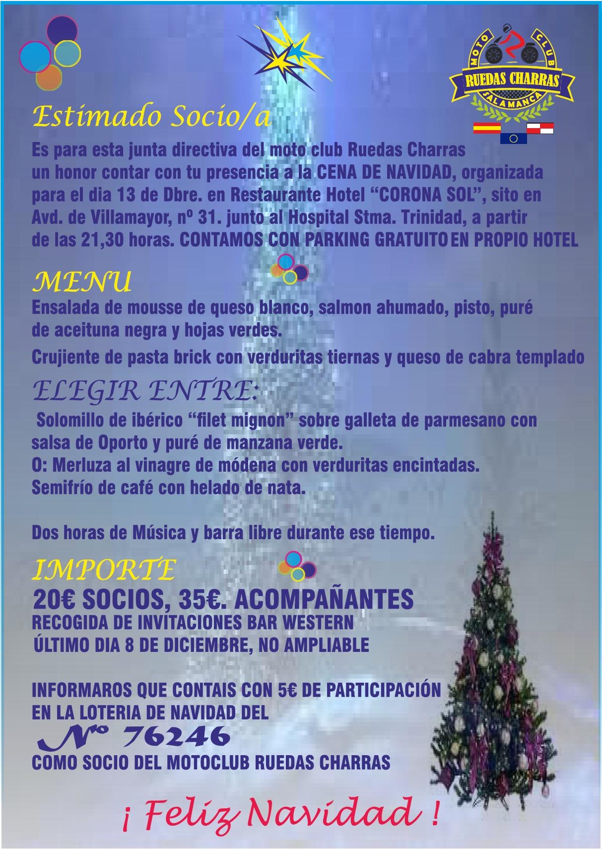 cartel cena navidad 2014