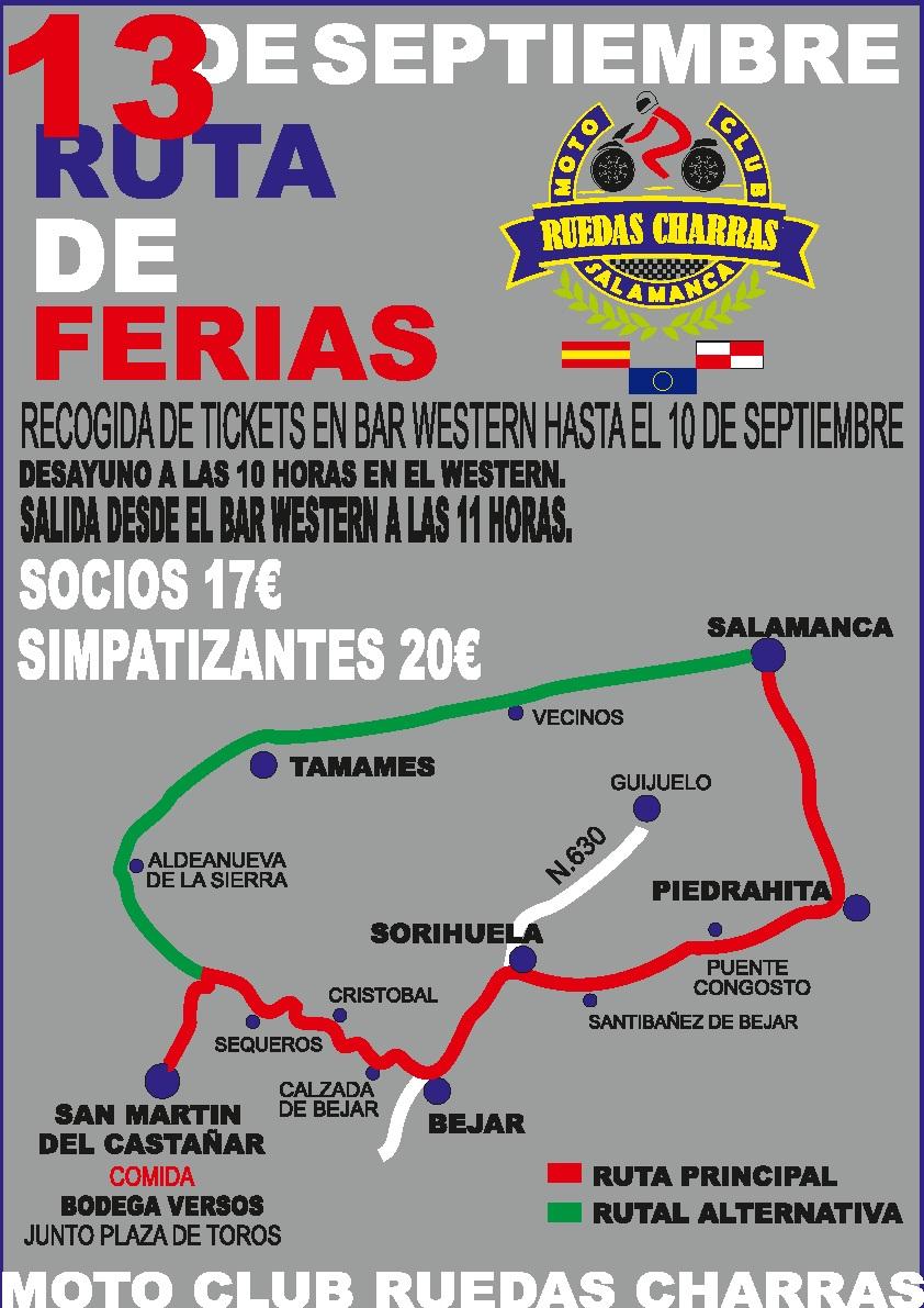 Ruta de Ferias 2015